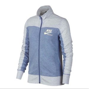 Nike women's vintage logo zip sweatshirt